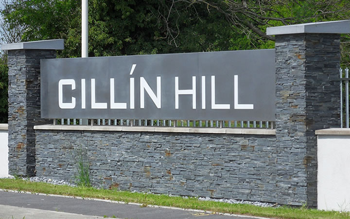 Cillin Hill stainless steel lightbox
