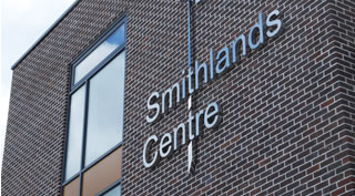 Smithlands Centre Build-up Signage
