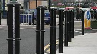 Bollards for traffic
